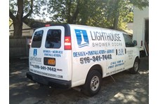 Vehicle Graphics for Lighthouse Shower Doors